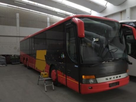 SETRA S 317 UL – schräge Front